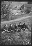Przed Schroniskiem Młodzieżowym im. P. Beneke ok. 1941r.