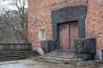 Wejście z tarasu do sieni głównej