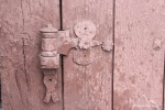 detal z drzwi wejściowych od str. tarasu