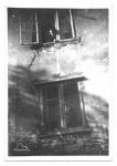 """Ul. Biskupia 12, domek z napisem """"Ora et labora"""" , połowa lat  60., rozebrany w l. 80"""