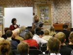 Prowadzące debatę: Elżbieta Jachlewska, Stow. Waga i dr Ewa Baniecka GWSH